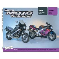RMT Honda NTV 650 Revere et Yamaha YZF 750 R