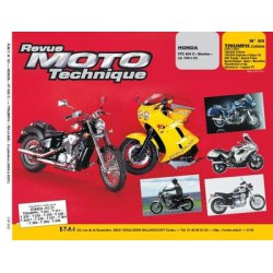 RMT Honda VTC 600 C Shadow et Triumph 750, 900