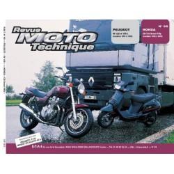 RMT Peugeot SV 125, 125L et Honda CB 750 Seven Fifty