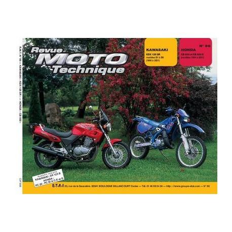 RMT Kawasaki KDX 125 SR et Honda CB 500, 500S