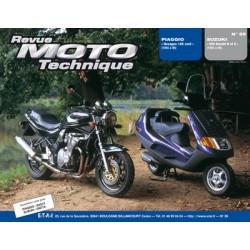 RMT Piaggio Hexagon 125 et Suzuki 600 Bandit