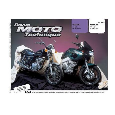 RMT Suzuki GN 125 et Yamaha TDM 850