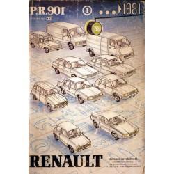 Renault, catalogue de pièces gamme 1981 et avant