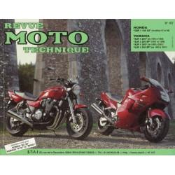 RMT Honda CBR 1100 XX et Yamaha XJR 1200, 1300, SP