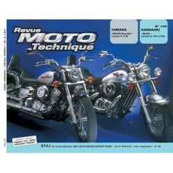 RMT Yamaha XVS 650 Drag Star et Kawasaki VN 800