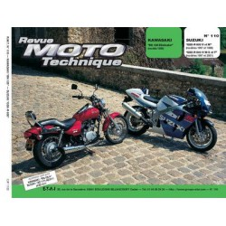 RMT Kawasaki BN 125 Eliminator et Suzuki GSX R 600