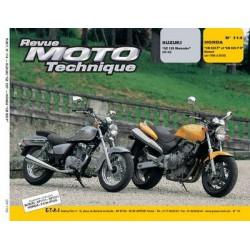 RMT Suzuki GZ 125 Marauder et Honda CB 600 Hornet