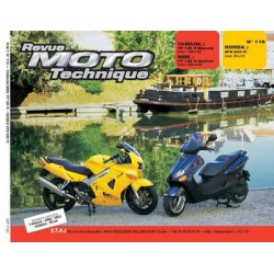 RMT Yamaha, MBK YP 125R et Honda VFR 800 FI