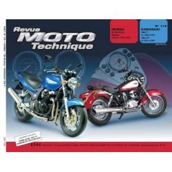 RMT Honda VT 125 C Shadow et Kawasaki ZR7