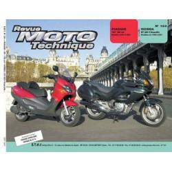 RMT Piaggio X9 et Honda NT 650 V Deauville
