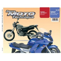 RMT Honda CLR 125 CityFly et Yamaha FJR 1300