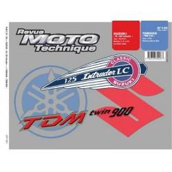 RMT Suzuki VL 125 Intruder et Yamaha TDM 900