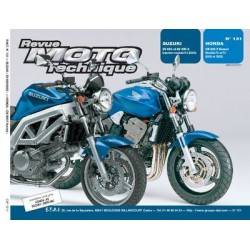 RMT Suzuki SV 650 et Honda CB 900 F Hornet