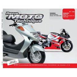 RMT Honda 125 FES Pantheon et Suzuki GSX R 750