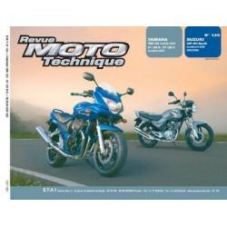 RMT Yamaha YBR 125, XT 125R et Suzuki GSF 650