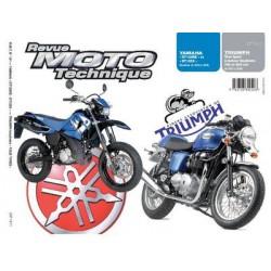RMT Yamaha DT 125RE, X et Triumph à moteur 790, 865