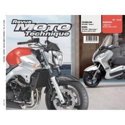RMT Suzuki GSR 600 et Yamaha, MBK YP 125R