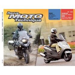 RMT BMW R1200 RT, GS et Yamaha, MBK YP 125 D, E