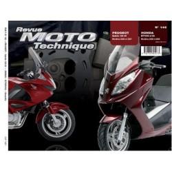RMT Honda NT 700V, VA et Peugeot Satelis 125 4V