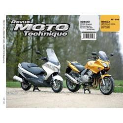 RMT Suzuki UH 125 Burgman et Honda CBF 1000, 1000A