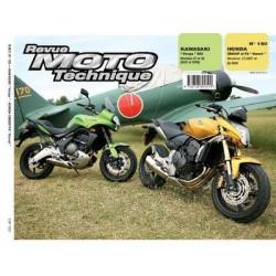 RMT Honda CB 600F, FA Hornet et Kawasaki Versys 650