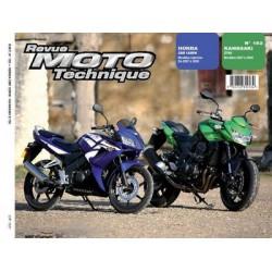 RMT Kawasaki Z750 et Honda CBR 125 RW