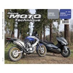 RMT Yamaha XP500 TMAX et Honda XL 700V, VA Transalp