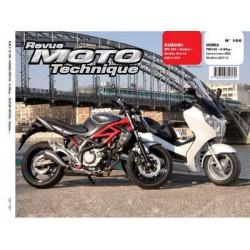 RMT Honda FES 125 S-Wing et Suzuki SFV 650 Gladius