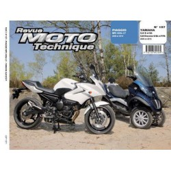 RMT Piaggio MP3 400ie LT et Yamaha XJ6, Diversion