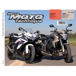 RMT Honda CB 1000R, RA et Suzuki GSX-R750