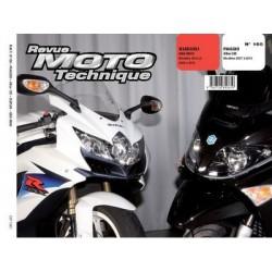 RMT Piaggio XEvo 125 et Suzuki GSX-R600