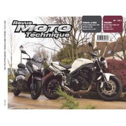 RMT Yamaha, MBK YP 125R, RA et Triumph Speed Triple 1050