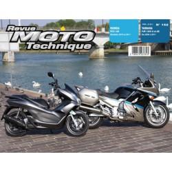 RMT Honda PCX 125 et Yamaha FJR 1300A, AS