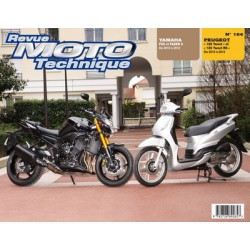 RMT Peugeot 125 Tweet et Yamaha FZ8, Fazer 8