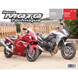 RMT Honda CBF 1000F A et Suzuki GSX 1300R Hayabusa