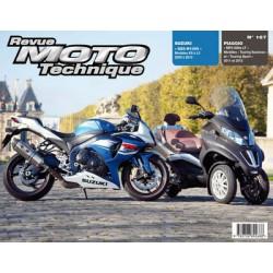 RMT Piaggio MP3 500ie LT et Suzuki GSX-R1000