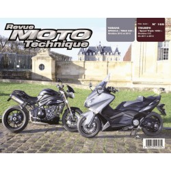 RMT Triumph Speed Triple 1050 et Yamaha XP500 TMAX 530