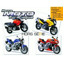 RMT Suzuki SV, DL 1000, V-Storm et Kawasaki KLV 1000