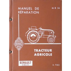 Renault D16, N73 et V73 (R7053), manuel de réparation