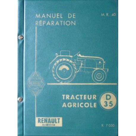 manuel reparation tracteur renault d22