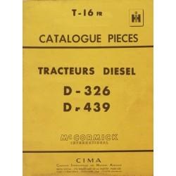 McCormick IH presse ramasseuse F-45, catalogue de pièces