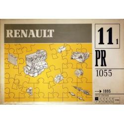 Renault, catalogue de pièces gamme 1995 et avant