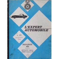 L'EA Peugeot 404 familiale, break et commerciale
