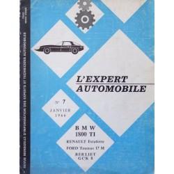 L'EA BMW 1500, 1800TI et Renault Estafette R2132, R2133