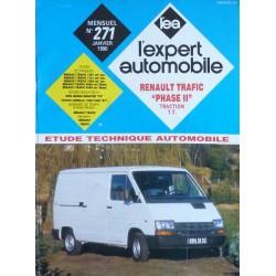 L'EA Renault Trafic I traction, depuis 1989
