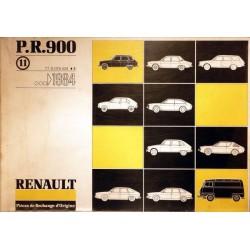 Renault, catalogue de pièces gamme 1984 et avant