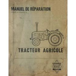 Renault relevage hydraulique 324, Manuel de réparation