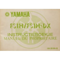 Yamaha 50 Super FS1H, FS1H-DX, notice d'entretien