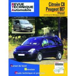 RTA Citroën C8, Peugeot 807, Fiat Ulysse II, Lancia Phedra