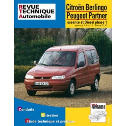 RTA Citroën Berlingo I, Peugeot Partner I, phase 1